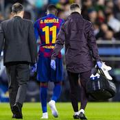 Ousmane Dembélé, deux ans et demi au Barça, 63 matches ratés et déjà 9 blessures