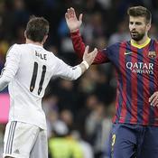 Clasico Real Madrid Barcelone Gerard Piqué