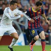 Cristiano Ronaldo Lionel Messi Clasico Real Madrid Barcelone