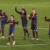 Barcelone en finale de la Supercoupe d'Espagne, après avoir battu la Real Sociedad aux tirs au but