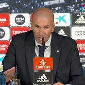 Zidane : «Ça fait un moment que Benzema fait de bons matches»