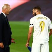 Zinédine Zidane s'agace de la polémique contre Karim Benzema