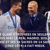 Les stats dingues de Zidane au Real Madrid