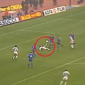 Juventus-Vérone : le retourné acrobatique de Schillaci en 1992