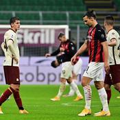 Malgré Ibrahimovic, le Milan AC abandonne ses premiers points contre la Roma