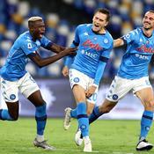 Naples cartonne, le Milan gagne sans Ibra