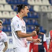 Le doublé d'Ibrahimovic et l'AC Milan reprend seul les commandes