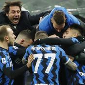 Tombeur de la Lazio Rome, l'Inter Milan en tête de la Serie A
