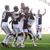 La Juventus se promène lors du derby