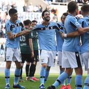La Lazio prend provisoirement la tête