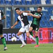 Ronaldo face à Sassuolo
