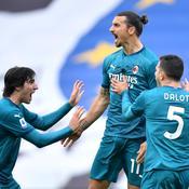 Le Milan AC s'impose sur un nouveau chef d'oeuvre d'Ibrahimovic