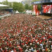 Fan Zone Zurich Euro 2008