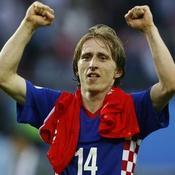 Luka Modric Croatie Euro 2008