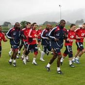 Equipe de France Entraînement Euro 2008