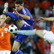 France Pays-Bas Euro 2008 Jeremy Toulalan Rafael Van der Vaart