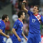 Le Croate Mandzukic célèbre l'ouverture du score dès la 3e.