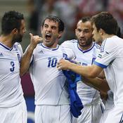 Grèce-Russie, Joie Karagounis