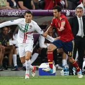 Cristiano Ronaldo (Portugal) - Sergio Busquets (Espagne)