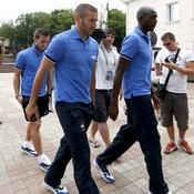 Karim Benzema, Alou Diarra, Yohan Cabaye