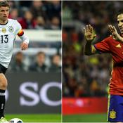 Côté Allemand, Kevin Trapp sera absent à l'Euro, tout comme Diego Costa chez les Espagnols