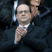 François Hollande au Stade de France pour France-Russie