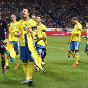 Ibrahimovic confiant, la Suède sous la menace du Danemark