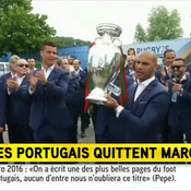 Les Portugais ont quitté leur camp de base de Marcoussis
