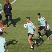 Premier entraînement et prise de marque du Portugal à Marcoussis