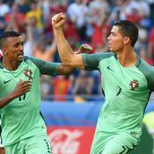 Nani et Cristiano Ronaldo