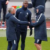 Didier Deschamps, Paul Pogba et Antoine Griezmann