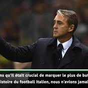 Mancini après le carton de l'Italie : «Nous n'avions jamais gagné 6-0»
