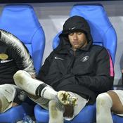 Leo Paredes, Neymar et Dani Alves face à Rennes