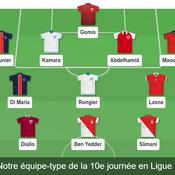 Ligue 1 : notre équipe type de la 10e journée