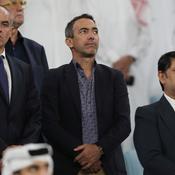 Youri Djorkaeff à la Finale de la coupe Emir, au Qatar, le 16 mai dernier