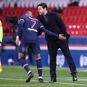 Kylian Mbappé et Mauricio Pochettino