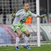 Jérémie Janot est en état de grâce actuellement dans les cages de l'ASSE malgré un pénalty encaissé mardi à Lens (0-1).