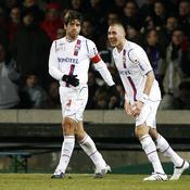 Juninho et Karim Benzema