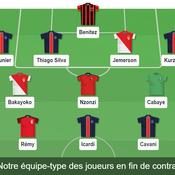L'équipe-type des joueurs de Ligue 1 en fin de contrat
