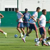 Les Lyonnais ont repris l'entraînement ce jeudi.