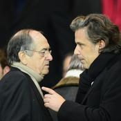 Noël Le Graët et Vincent Labrune