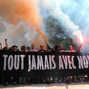 Le bel hommage des supporters de Montpellier à Louis Nicollin