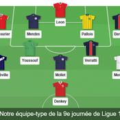 Léon, Pallois, Mollet... Notre équipe-type de la 9e journée de Ligue 1