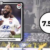 Les notes du derby Lyon-Saint-Etienne : le héros Dembélé, des cadres verts à la rue
