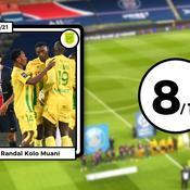 Les notes de PSG-Nantes: Kolo Muani et Lafont en bourreaux de Paris, l'offrande de Mbappé
