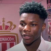 Les premiers mots de Tchouaméni avec l'AS Monaco