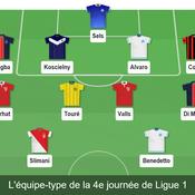 Ligue 1 : Benedetto, Slimani, Koscielny… notre équipe-type de la 4e journée