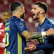 Lyon s'impose à Brest et se retrouve en tête de la Ligue 1