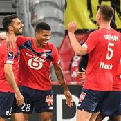 Lille ne tremble pas contre Nice et garde les commandes de la Ligue 1