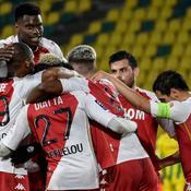 Monaco enfonce Nantes et se rapproche du podium